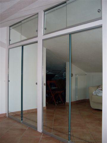 Sandro moro creazioni artistiche - Porte scorrevoli a specchio ...